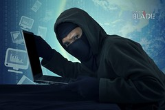Robber with mask stealing notebook computer (shadowbilgisayar) Tags: hacker man internet security crime data technology computer network virus identity password thief code danger web information binary spy safety laptop cyber hack hacking theft access id online stealing phishing system attack cracker digital malicious user threat male mask scam fraud illegal spyware intruder holding carrying looking notebook business financial indonesia