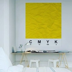 C 0 M 13 Y 100 K 2 #CMYK #interiordesign #interiorarchitect #interior #design #modern #cool #Color #minimal #bedroom #white #yellow #inspiration #designspiration (publicidademarketing) Tags: publicidade e marketing blog branding propaganda design grafico comunicação visual logomarca agencia de identidade promocional o que é tipos comercial