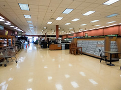 Cards, Deli, Produce, and Liquor (Nicholas Eckhart) Tags: america us usa columbus ohio oh retail stores former closed empty closing gianteagle supermarket groceries interior