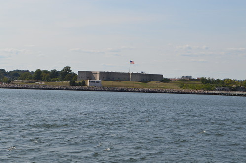 Fort Trumbull New London CT Connecticut near the mouth of the Thames River on the Long Island Sound