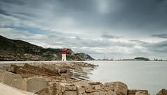 El Faro de Navidad (Photandr) Tags: faro cartagena mar longexposure seascape murcia rompeolas espigón sea water rocks