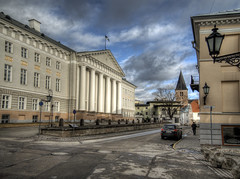 Tartu University, Estonia (neilalderney123) Tags: ©2017neilhoward tartu estonia landscape olympus olympusuk travel university architecture