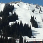 The 'Face' Slalom Run at Silver Star