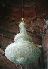 chandelier (WataruKagaya) Tags: trip travel india film olympus shining om20