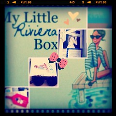 #MylittleBox#MylittleRivieraBox#Mai#2013#Illustration#Kanako#BrigitteBardot#Beauty#Goodies#Box#Summer (passionthe) Tags: paris les french little box gift surprise sa femmes beaute choisir toutes mylittlebox mylittleparis boxicomane