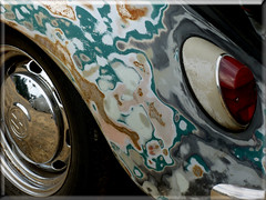 08.18.12 Shabby VW III (MDawny72) Tags: vw bug washington rust paint beetle tacoma custom effect volkswagon lemay