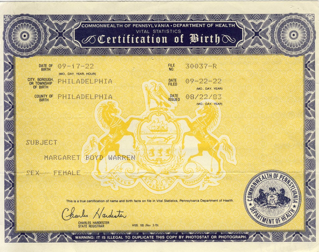 The Worlds Best Photos Of Birth And Certificate Flickr Hive Mind