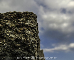 DSCN1672 (Eye-View Photography) Tags: blue sky brown white macro wall rocks different angle bored explore jamaica eyeview
