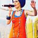 Певица XENA (Ксена) на музыкальном фестивале «Дикая Мята».