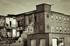 (Alexandra Lynn) Tags: old bw abandoned beautiful buildings bricks rustic haunting
