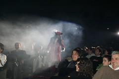 capitan Uncino - Senigallia (walterino1962 / sempre nomadi) Tags: teatro ombre persone luci sedie riflessi microfono ancona fumo ostra fari pubblico trucco attore scalini