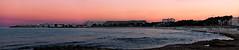 Sa Coma Beach (WhySoSerious?) Tags: sea panorama seaweed beach silhouette skyline strand canon eos spain meer dusk mallorca spanien abenddmmerung seegras sacoma 650d