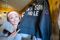 Overpriced gift shop crap (m01229) Tags: shop unitedstates jackson gift wyoming jacksonhole giftshop sweatshirts d7000