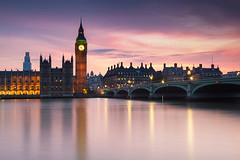 9:26 (Stuart Stevenson) Tags: uk longexposure england london tower westminster architecture photography scotland dusk housesofparliament bigben wideangle landmark iconic riverthames westminsterbridge centrallondon northbank ndfilter clydevalley cityofwestminster ndgrad citybynight thanksforviewing twlightlight canon5dmkii stuartstevenson ©stuartstevenson