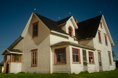 house2 (wBKRw) Tags: house architecture night farmhouse stars vernacular pei