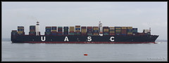 Jebel Ali (leightonian) Tags: uk island boat ship unitedkingdom isleofwight solent gb containership isle cowes wight iow
