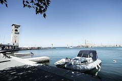 Port de Rhodes - colosse (Fanny Joly Photographe - FY JY) Tags: greece rhodes rhodos