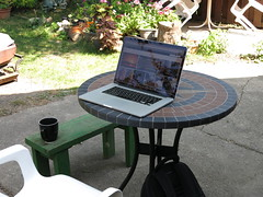 IMG_0026 (andre vautour) Tags: apple coffee stone garden backyard afternoon laptop lounge cement relaxing sunny patio workspace interiorsset andrevautour