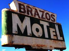 Brazos Motel (Lon_Donner) Tags: vintagemotelsigns