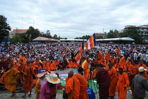 CNRP Protest Phnom Penh