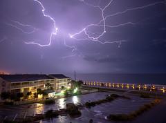 Lightning streaks over Gulf (earlb.com) Tags: storm electric mexico gulf florida extreme lightning lightening destin