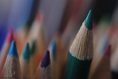 Staying sharp (Tony Dias 7) Tags: macro pencils sharp coloured