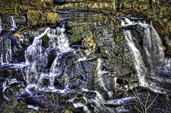 Southford Falls going with the flow- (Singing With Light) Tags: bridge november photography waterfall pentax ct covered 2012 k5 jjp southbury southfordfalls singingwithlight