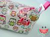 Necessarie Box (Taty Fazendo Arte) Tags: rosa maquiagem coruja bos poa lapis quadrada estojo corujinha necesser necessarie