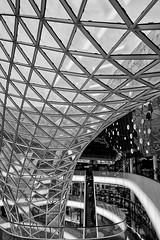 MyZEIL  Frankfurt (jo.misere) Tags: light black art architecture mall frankfurt sony alpha geographic duitsland 2013 a77sony