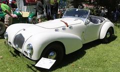 1952 Allard K2 (Bill Jacomet) Tags: show car club texas yacht wheels and k2 lakewood concours 52 seabrook allard 1952 keels delegance 2013