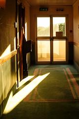 Passageway (Kaero Zhi) Tags: morning rome sunshine hotel exit passageway minoltamd50mm14 sonynex7