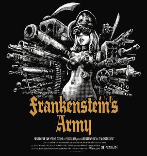 Rockin'Jelly Bean × 『武器人間』聯名T恤(Frankenstein's Army)