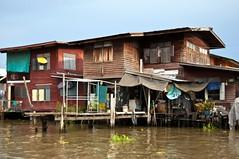 Boat trip Mekong River, Bangkok (Tuk Tuk Tales) Tags: city trip travel cruise urban water architecture rural river thailand boat asia southeastasia bangkok citylife streetlife ciudad boattrip mekong boatride mekongriver