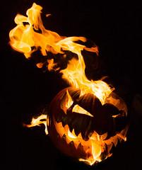 Burning Pumpkins (Jsdeitch) Tags: canon ef 5d mark iii fire halloween burning pumpkin pumpkins head heads