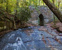 Poinsett Flow (augphoto) Tags: old bridge water stone river outdoors us arch unitedstates cleveland southcarolina augphotoimagery