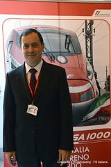 Vincenzo Soprano AD di Trenitalia (Ferrovie dello Stato Italiane) Tags: roma soprano moretti orario trenitalia conferenza 2014 treni ferrovie