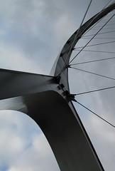 De Oversteek (ohank1951) Tags: bridge architecture nijmegen opening brug brcke bam architectuur waal gelderland nimwegen oversteek deoversteek stadsbrug laurentney maxbgl