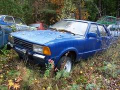 Ford Taunus (CarSpottingSweden) Tags: vision:mountain=0547 vision:sky=0549 vision:outdoor=077 vision:car=0634