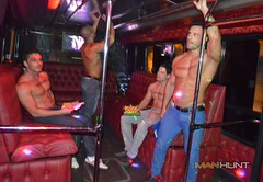 The Manhunt Bus  Bueno Aires, Argentina  11/29/13 (Official MANHUNT) Tags: gay bus men argentina pecs muscles gaymen buenosaires nipples manhuntnet manhunt gogoboys gaybuenosaires gayargentina manhuntevent