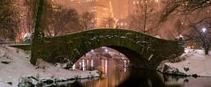 Christmas in the City, Central Park, Gapstow Bridge, New York. (pedro lastra) Tags: new york city night photography nikon df manhattan midtown