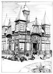 Porto Alegre Pavilhão de Santa Cruz Exposição 1901