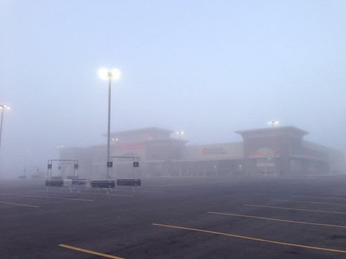 It was a dark and foggy morning...
