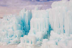 frozen wonderland (Sam Scholes) Tags: winter abstract ice beautiful digital utah nikon icicle midway icicles formations winterwonderland d800 icecastles midwayicecastles