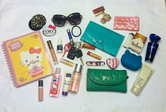 What's In My Bag? Jan 2014 (Skellington15108) Tags: hello pink wild ford sunglasses rose silver bag keys cards gold grey mirror coin hands bath hand heart jessica body cut whats wallet mark anniversary turquoise teal secret bees mary nail steve kay kitty dial pomegranate file 1999 polka spray clean clear southern purse leopard gift pouch midnight marlboro works zipper gloss forever mustang dots cigarettes satin edition glimmer avon simpson planner franco pochi shimmer madden lotion victorias chapstick antibacterial burts sarto sanitizer