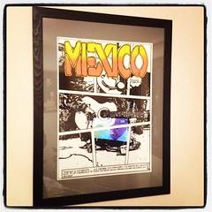 Retour à la casa ... Sur les 4 planches il en reste 1 à la galerie. #quimper #bvln #bd #mexico