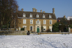 The Manor House. (Rothwell-Northants) Tags: snow northamptonshire manorhouse rothwell squireshill