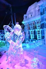 Brussels Ice Magic. (Azariel01) Tags: brussels sculpture ice festival comic belgium belgique bruxelles tintin bd glace ijs 2014