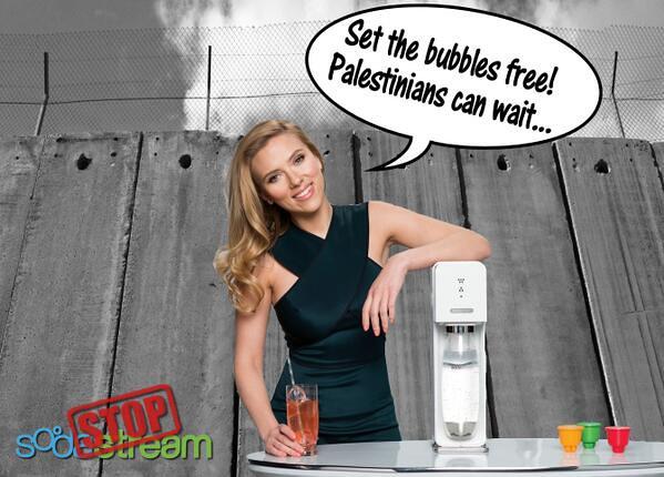 Scarlett Johansson endorsing Apartheid