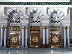 Al-Masjid an-Nabawi Gate (Ahmed_Fathi) Tags: madina annabawi almasjid