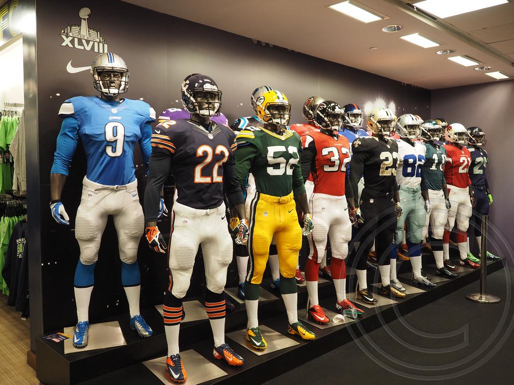 nfl football jersey store